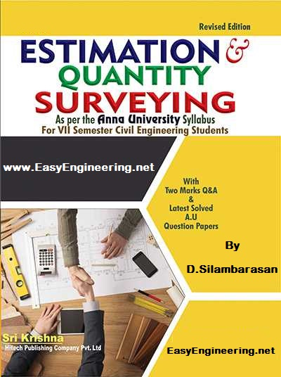 PDF] CE6704 Estimation and Quantity Surveying (EQS) Books