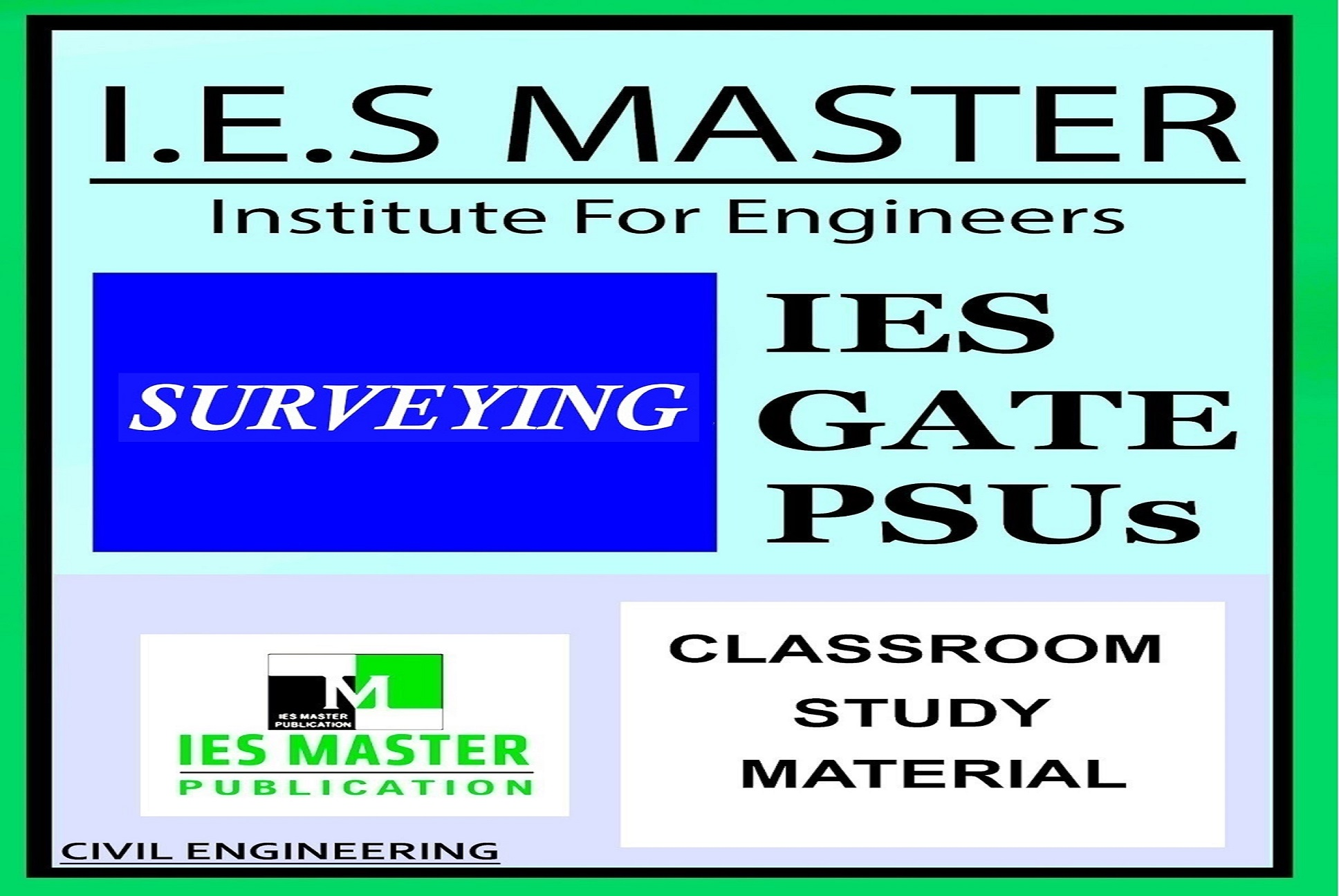 Ies master surveying easyengineering for Soil 1 year mba