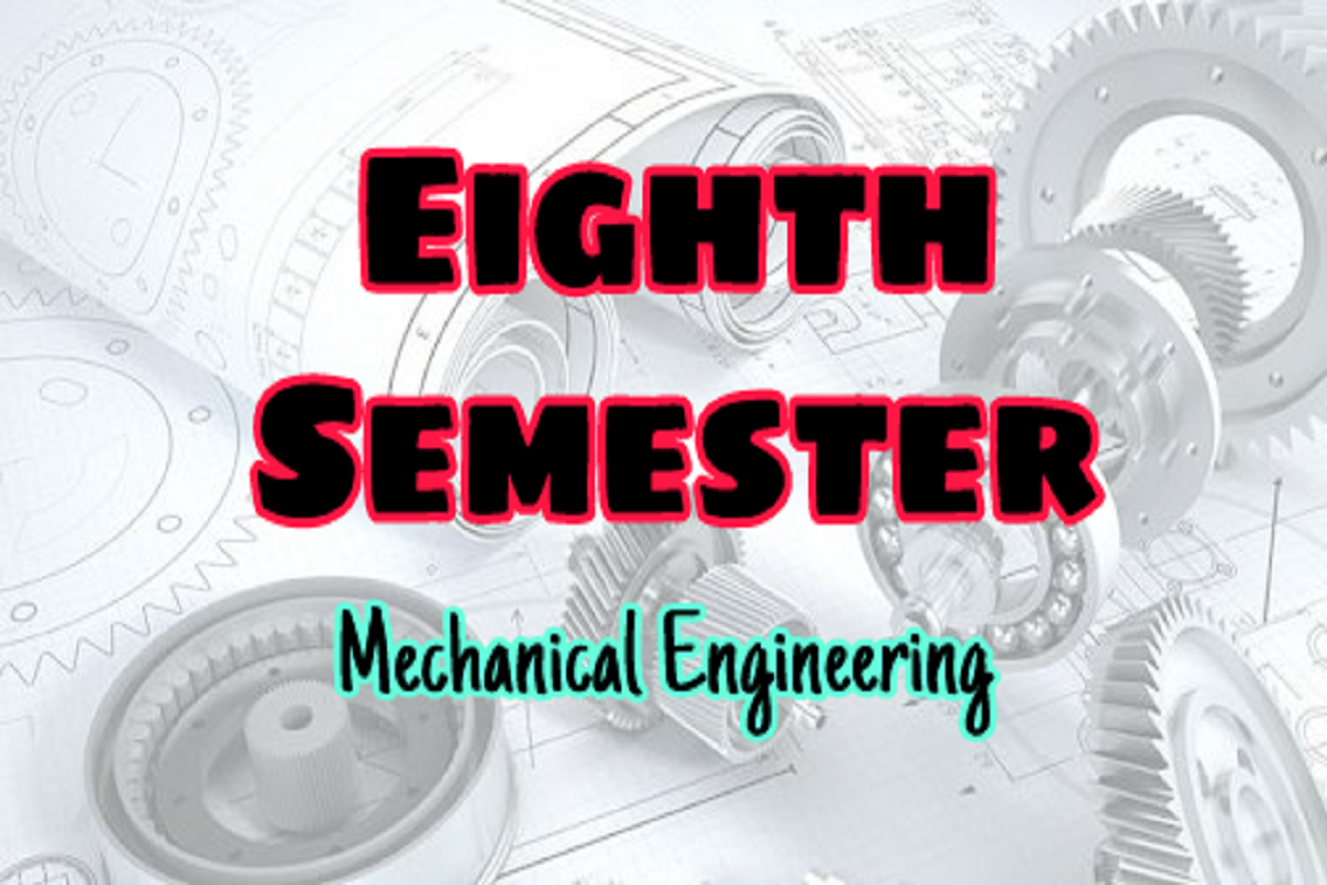 Anna University Mechanical Engineering Me Eighth Semester 8th Semester Syllabus Lecture Notes Easyengineering