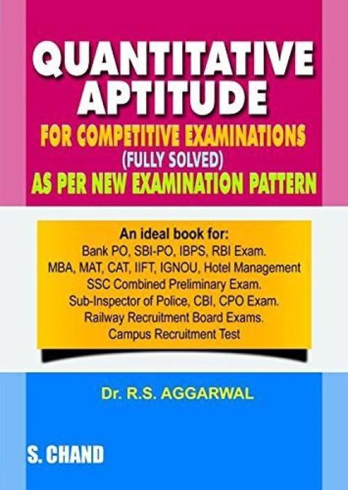 Rs aggarwal quantitative aptitude & verbal & reasoning book free.