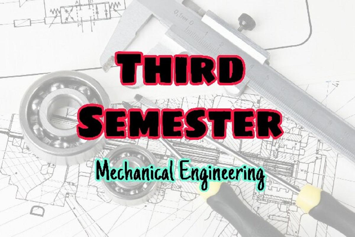 third semester – EasyEngineering