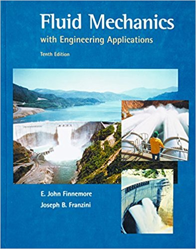 Fluid Mechanics With Engineering Applications Book (PDF) By E  John