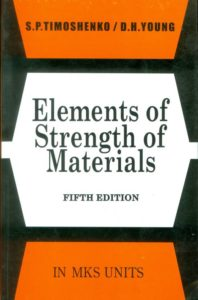 Strength of materials by timoshenko part i and part ii.
