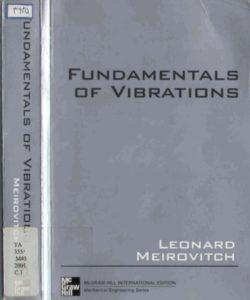 FUNDAMENTALS OF VIBRATIONS BY LEONARD MEIROVITCH