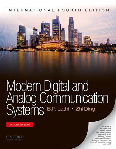 Modern digital and analog communication systems solutions manual.