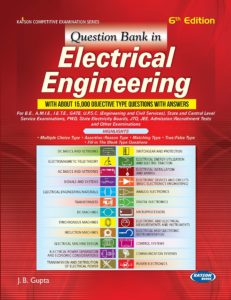 [PDF] Question Bank in Electrical Engineering By J.B. Gupta Book Free Download