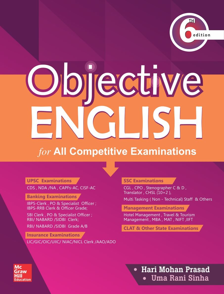 PDF] Objective English for Competitive Examination By Hari