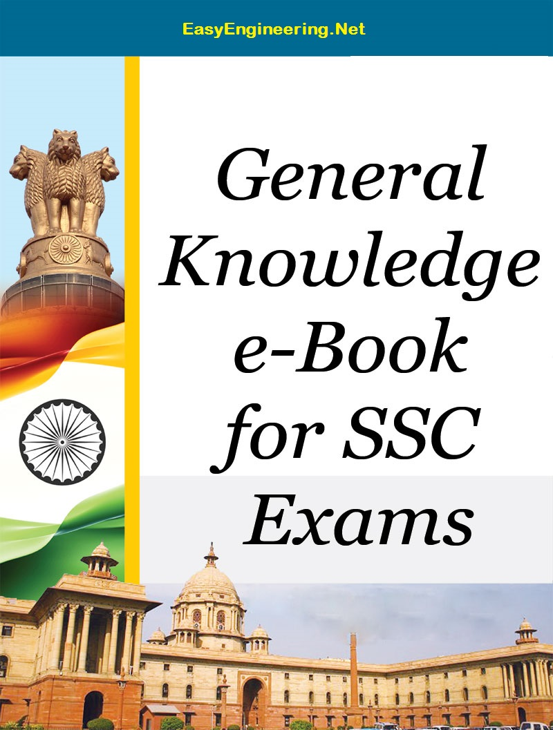 [PDF] General Knowledge Ebook for SSC Exam Book Free Download – EasyEngineering