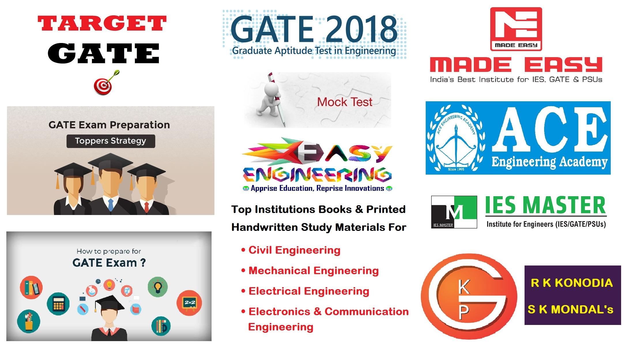 GATE Exams Study Materials – EasyEngineering