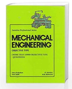 [PDF] Mechanical Engineering Objective Type By D.Handa, H.B.Keswani Book Free Download