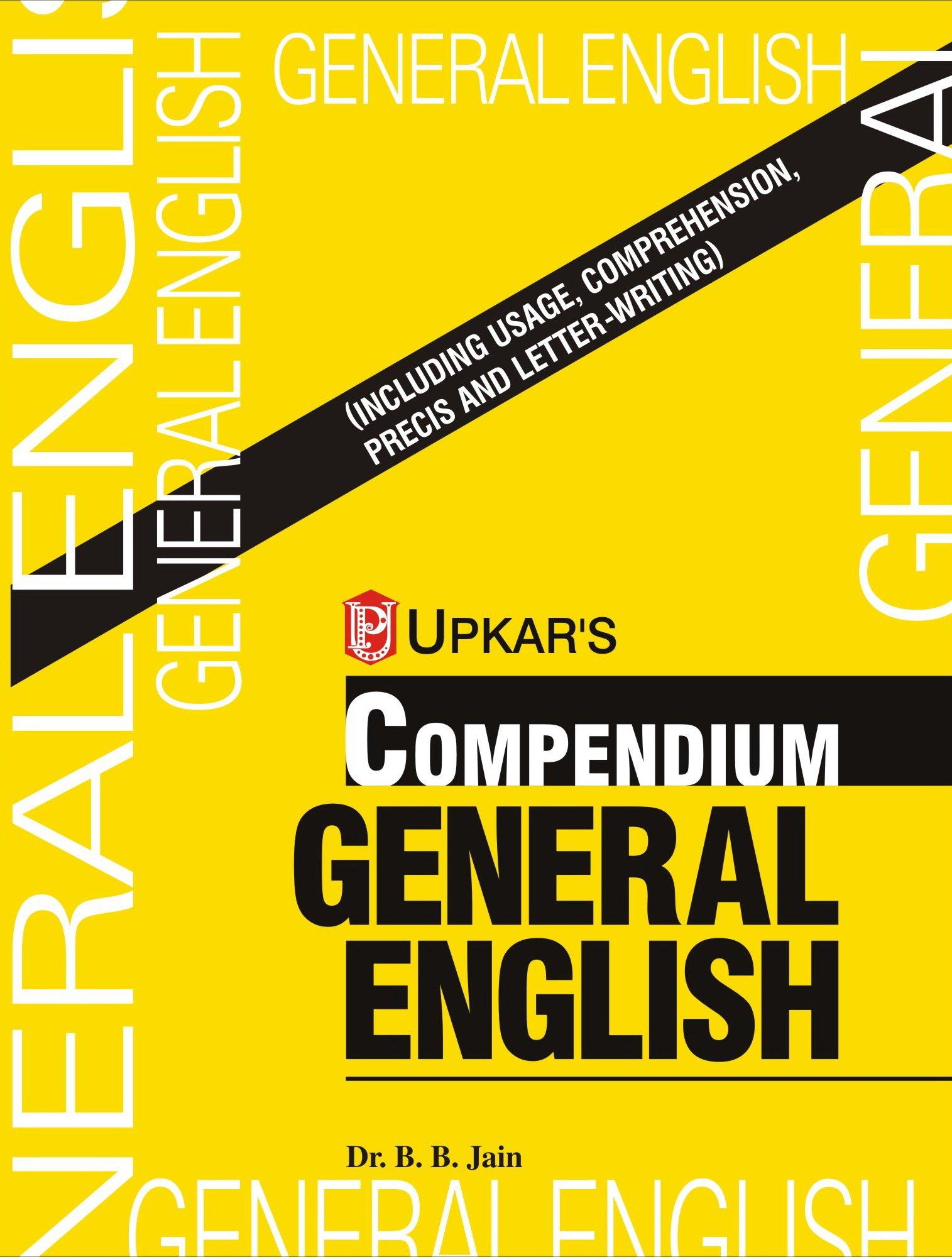 Compendium General English By B.B. Jain