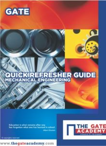 Quick Refresher Guide For Mechanical Engineering By The GATE Academy