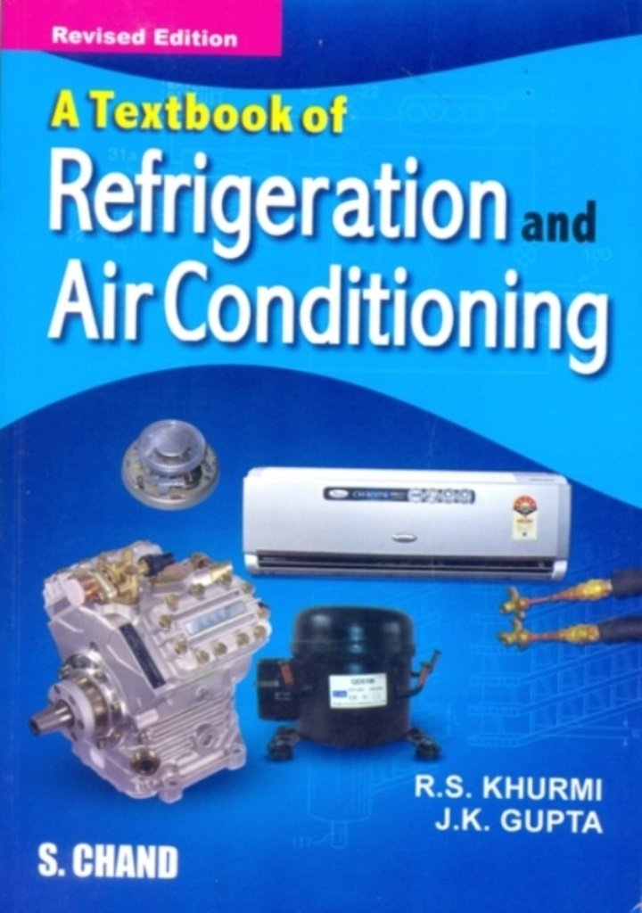 Pdf Textbook Of Refrigeration And Air Conditioning By R S Khurmi Book Free Download Easyengineering