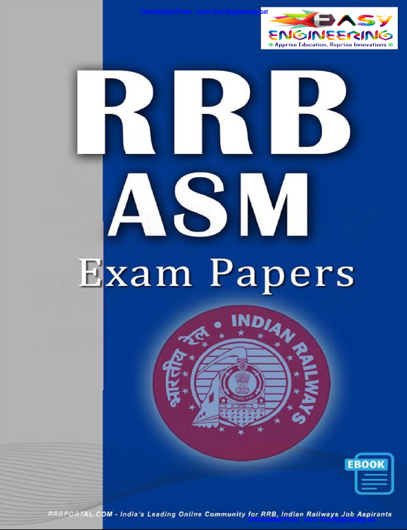 Rrb Asm Previous Papers Pdf