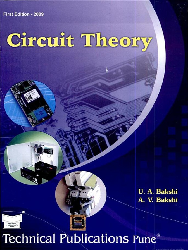 PDF] Circuit Theory By A V Bakshi, U A Bakshi Book Free Download