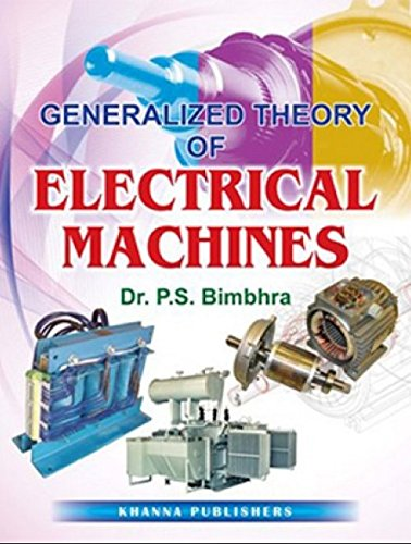 generalised theory of electrical machines by ps bimbhra