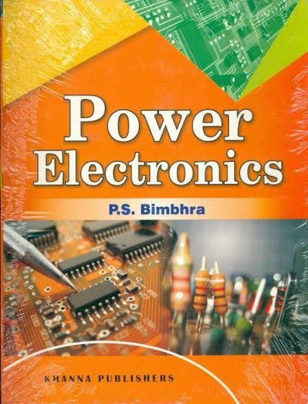 PDF] Power Electronics By P S  Bimbhra Book Free Download