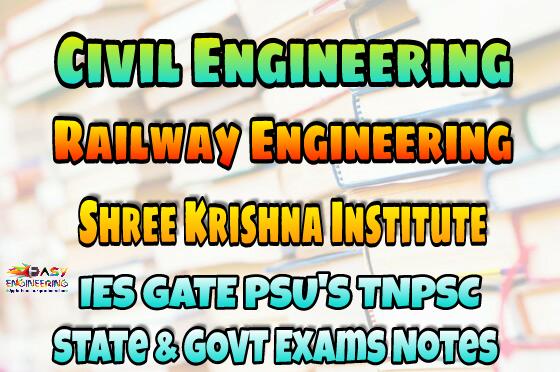 Sri Krishna Institute Railway Engineering Handwritten ...
